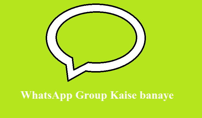 how to creat whatsapp group